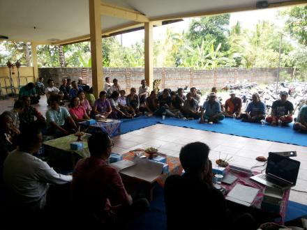 Sosialisasi Program Penyedian Air Minum  dan Sanitasi Masyarakat (PAMSIMAS) Tahun 2019